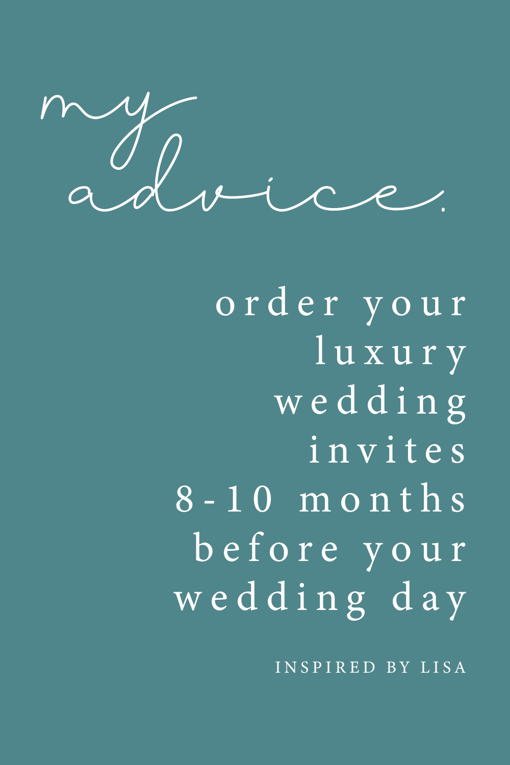 luxury wedding invites graphic when to order your wedding invitations advice
