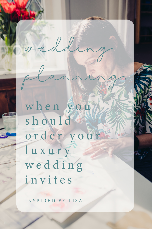 luxury wedding invites info graphic